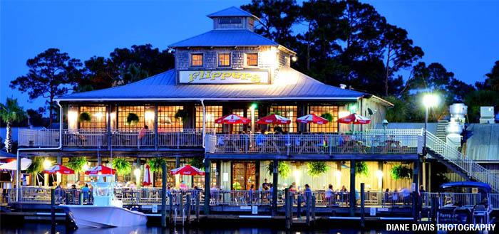 Flipper S Restaurant Bear Point Harbor Orange Beach Al